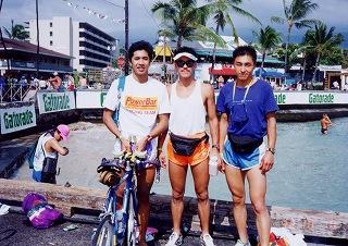 ハワイで中山俊行さんと野村さん