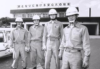 勤務している上山市消防本部 先輩方です